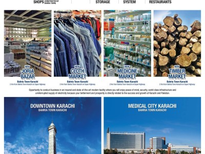 Bahria Town Announces New Trade and Business Zones in Karachi