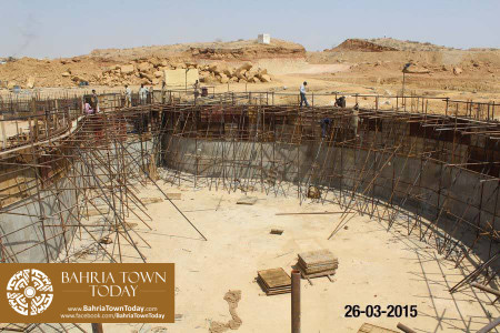Bahria Town Karachi Latest Progress Update - March 2015 (14)