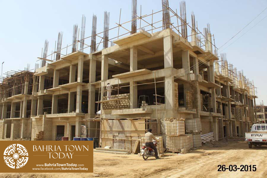 Bahria Town Karachi Latest Progress Update – March 2015 (15)