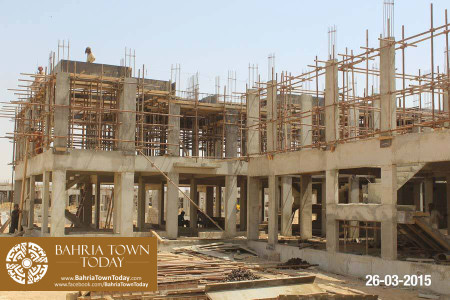 Bahria Town Karachi Latest Progress Update - March 2015 (16)