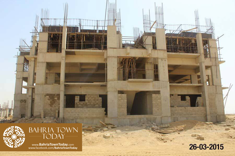Bahria Town Karachi Latest Progress Update – March 2015 (17)