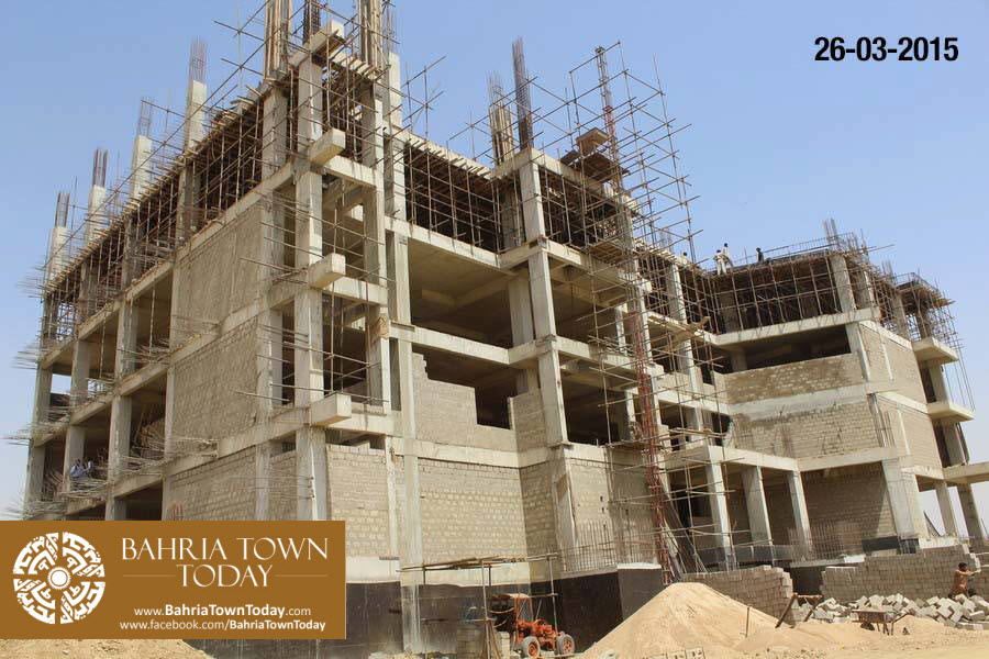 Bahria Town Karachi Latest Progress Update – March 2015 (2)