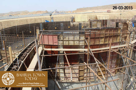 Bahria Town Karachi Latest Progress Update - March 2015 (20)