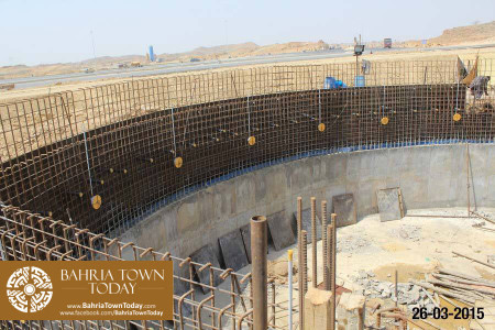 Bahria Town Karachi Latest Progress Update - March 2015 (22)