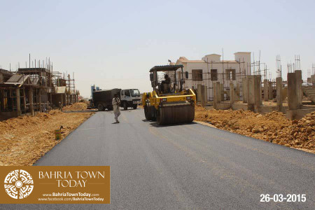 Bahria Town Karachi Latest Progress Update - March 2015 (25)