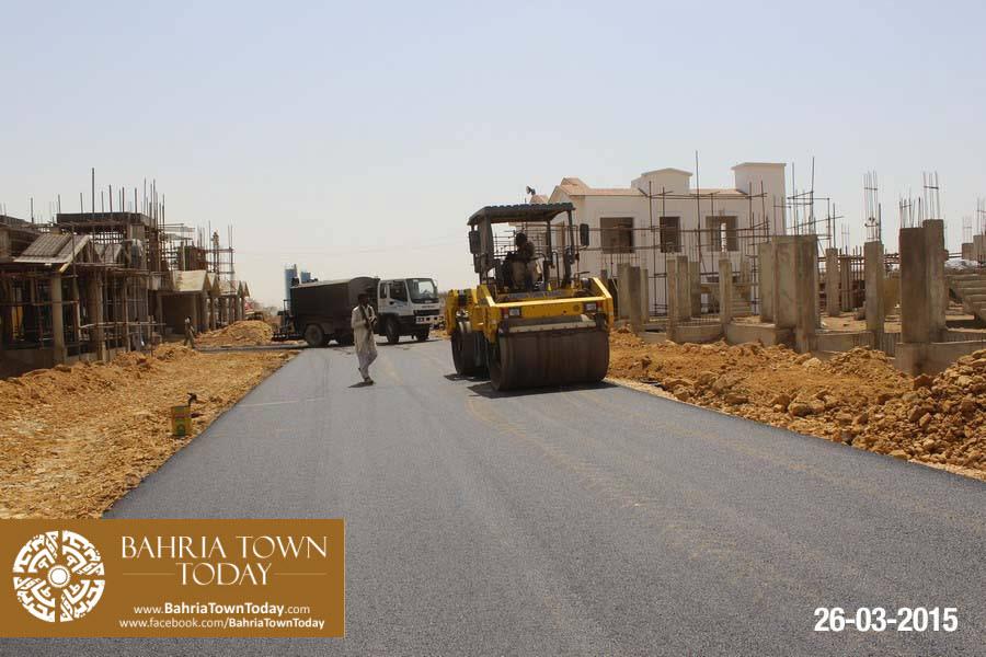 Bahria Town Karachi Latest Progress Update – March 2015 (25)