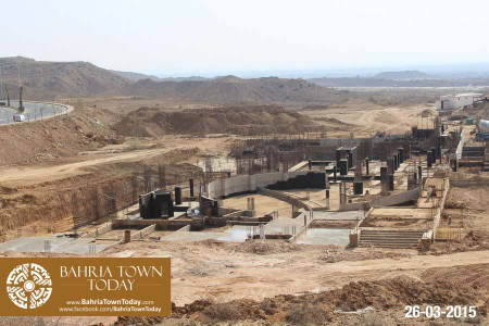 Bahria Town Karachi Latest Progress Update - March 2015 (27)