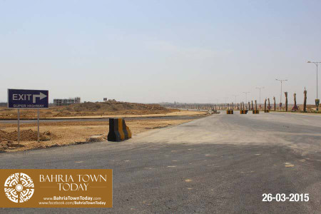Bahria Town Karachi Latest Progress Update - March 2015 (28)