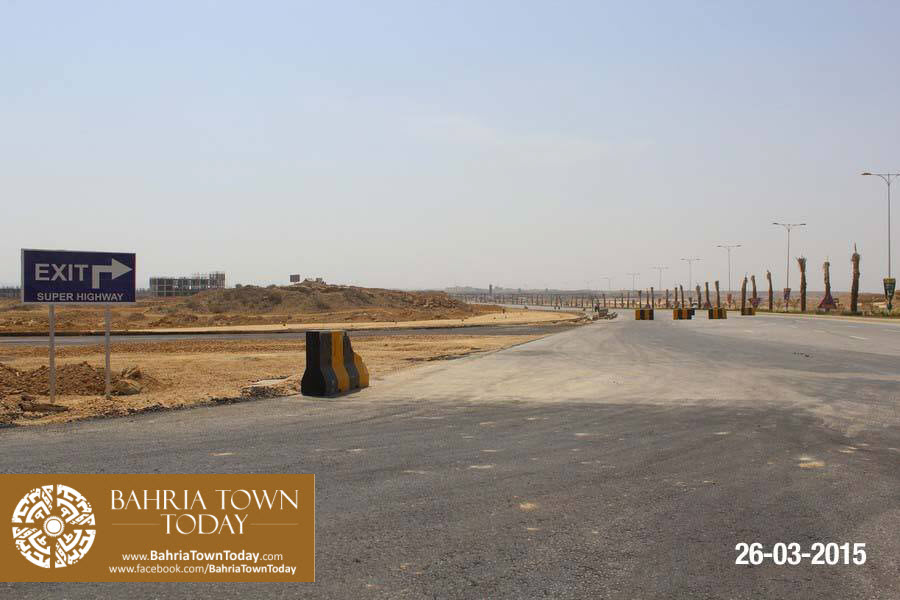 Bahria Town Karachi Latest Progress Update – March 2015 (28)