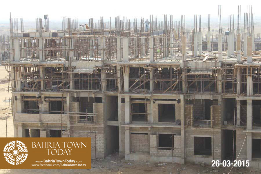 Bahria Town Karachi Latest Progress Update – March 2015 (29)
