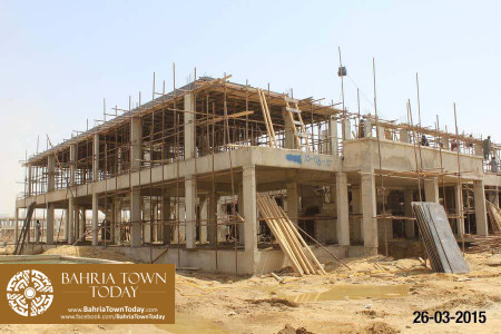 Bahria Town Karachi Latest Progress Update - March 2015 (31)