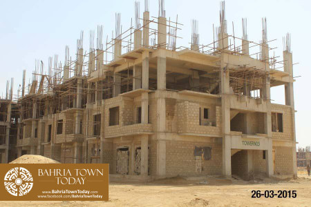 Bahria Town Karachi Latest Progress Update - March 2015 (32)
