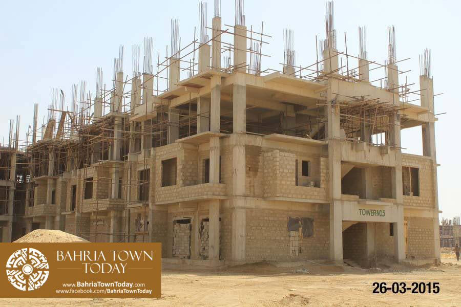 Bahria Town Karachi Latest Progress Update – March 2015 (32)