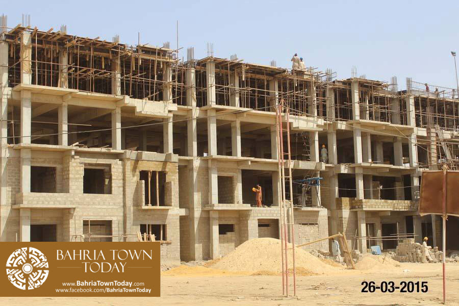Bahria Town Karachi Latest Progress Update – March 2015 (4)