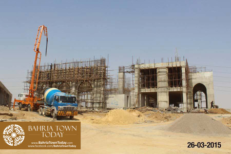 Bahria Town Karachi Latest Progress Update - March 2015 (5)
