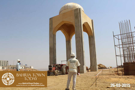 Bahria Town Karachi Latest Progress Update - March 2015 (6)