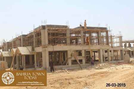 Bahria Town Karachi Latest Progress Update - March 2015 (8)