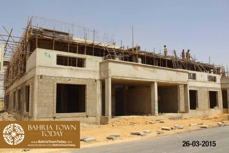 Bahria Town Karachi Latest Progress Update - March 2015 (9)
