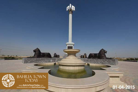 Bahria Town Karachi Latest Progress Update - April 2015 (1)