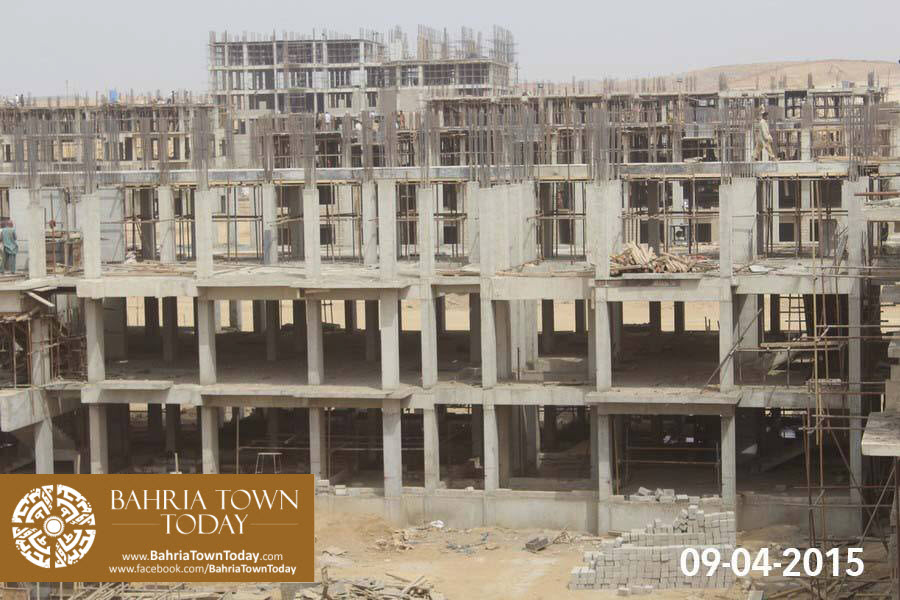 Bahria Town Karachi Latest Progress Update – April 2015 (10)