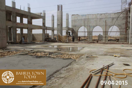 Bahria Town Karachi Latest Progress Update - April 2015 (11)