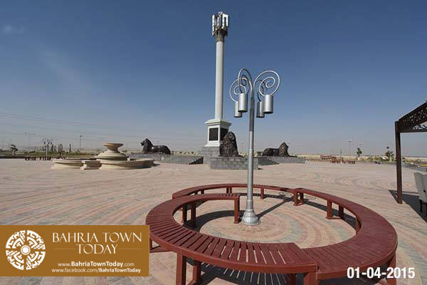 Bahria Town Karachi Latest Progress Update – April 2015 (12)