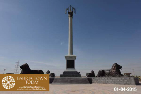 Bahria Town Karachi Latest Progress Update - April 2015 (13)