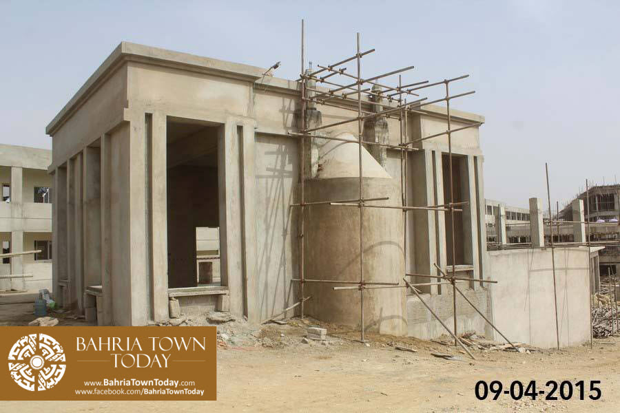 Bahria Town Karachi Latest Progress Update – April 2015 (1)