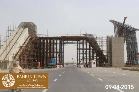 Bahria Town Karachi Latest Progress Update - April 2015 (14)
