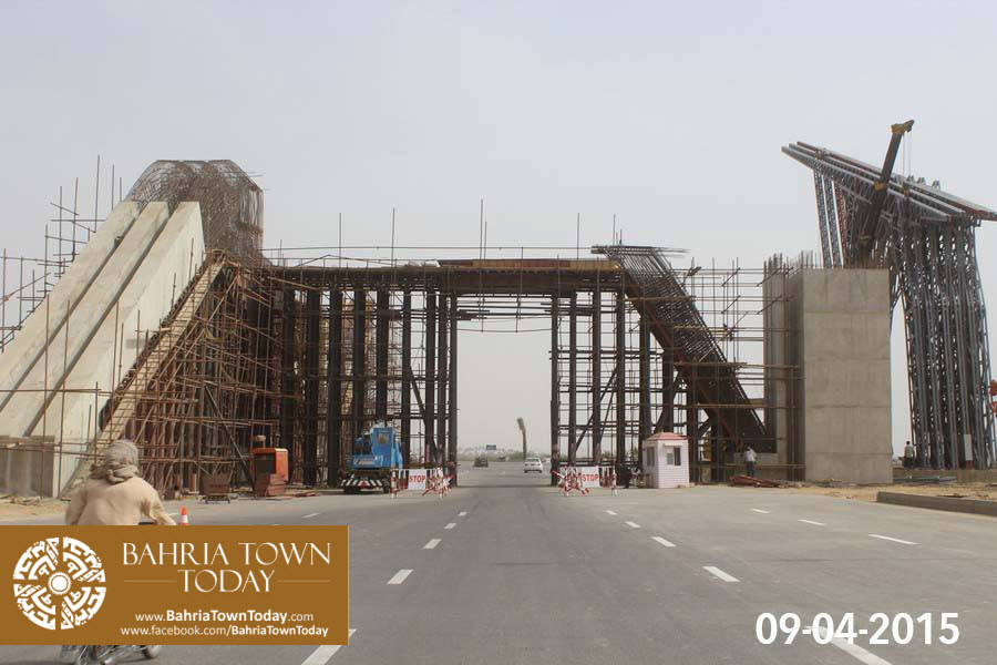Bahria Town Karachi Latest Progress Update – April 2015 (14)