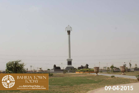 Bahria Town Karachi Latest Progress Update - April 2015 (15)