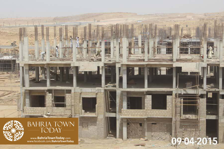 Bahria Town Karachi Latest Progress Update – April 2015 (16)