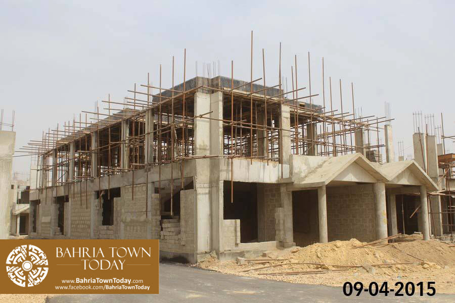 Bahria Town Karachi Latest Progress Update – April 2015 (18)