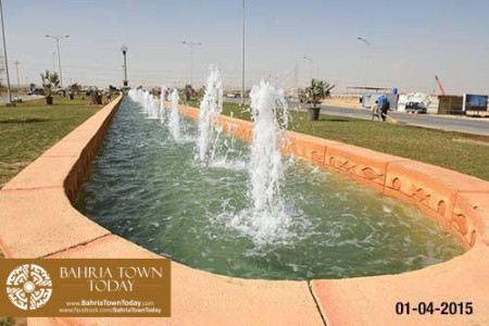 Bahria Town Karachi Latest Progress Update - April 2015 (2)