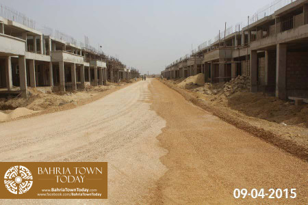 Bahria Town Karachi Latest Progress Update - April 2015 (20)