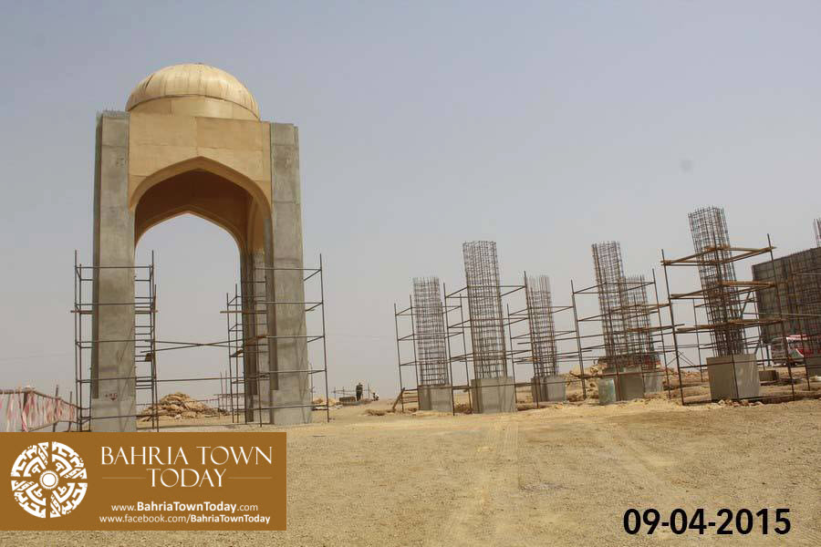 Bahria Town Karachi Latest Progress Update – April 2015 (2)