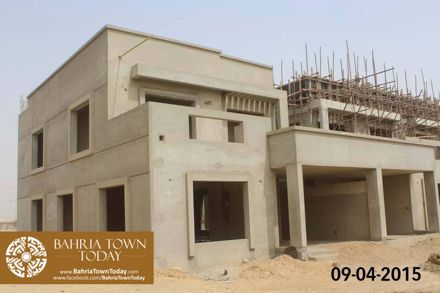 Bahria Town Karachi Latest Progress Update – April 2015 (21)