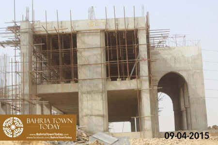 Bahria Town Karachi Latest Progress Update - April 2015 (22)