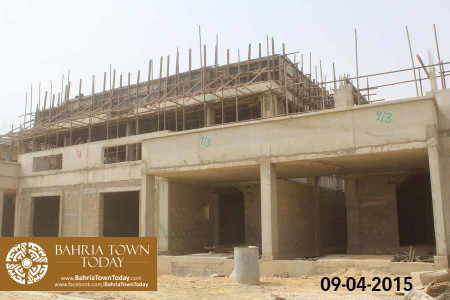 Bahria Town Karachi Latest Progress Update - April 2015 (23)
