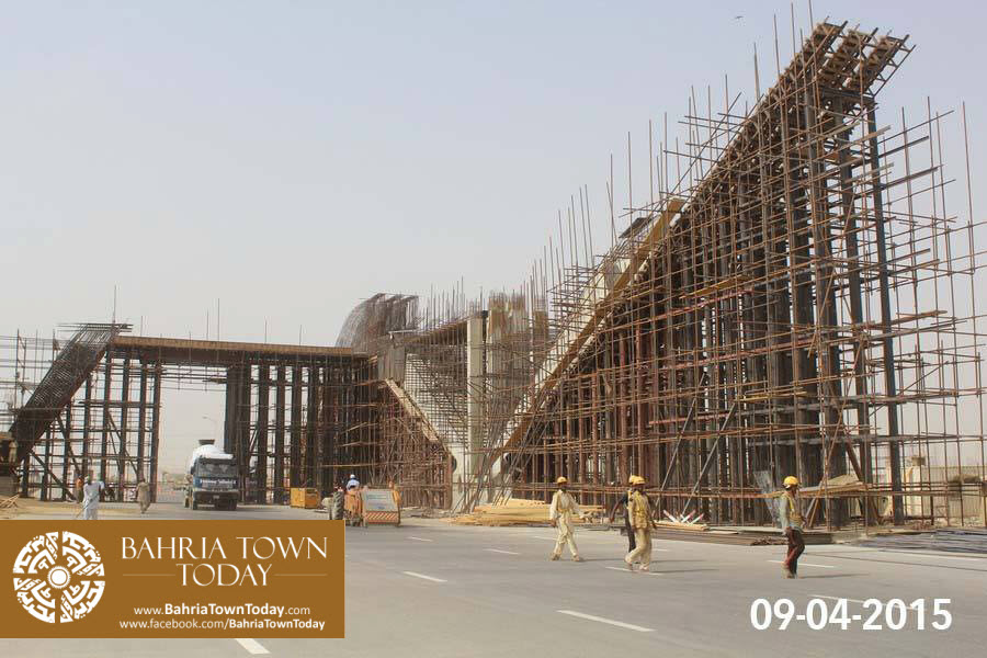Bahria Town Karachi Latest Progress Update – April 2015 (24)