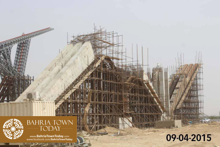 Bahria Town Karachi Latest Progress Update - April 2015 (25)