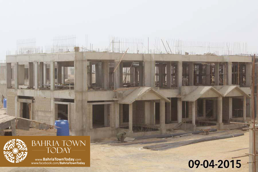 Bahria Town Karachi Latest Progress Update – April 2015 (26)