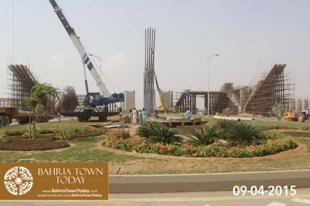 Bahria Town Karachi Latest Progress Update - April 2015 (27)