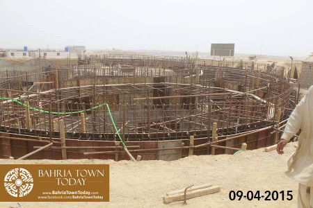 Bahria Town Karachi Latest Progress Update - April 2015 (28)