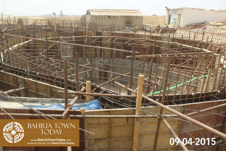 Bahria Town Karachi Latest Progress Update - April 2015 (29)