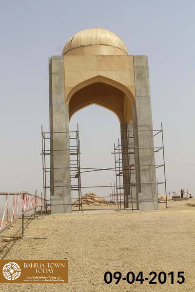 Bahria Town Karachi Latest Progress Update - April 2015 (30)