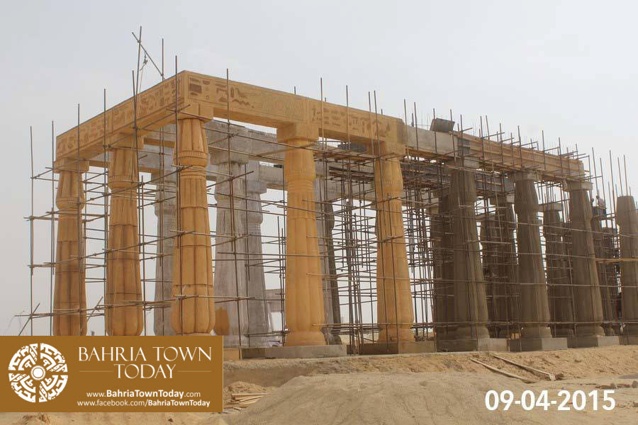 Bahria Town Karachi Latest Progress Update – April 2015 (3)