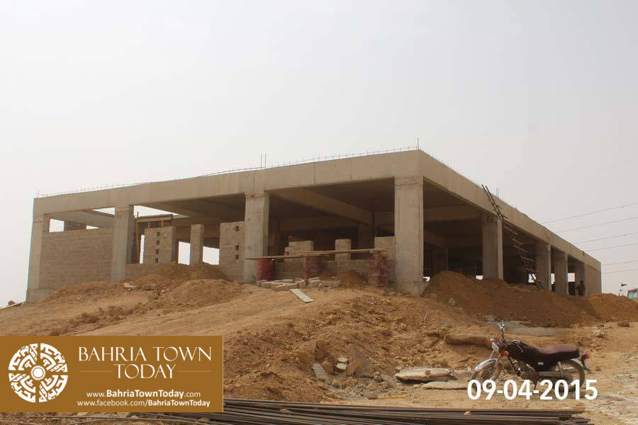 Bahria Town Karachi Latest Progress Update – April 2015 (34)