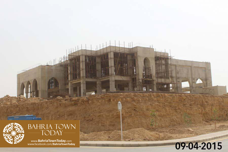 Bahria Town Karachi Latest Progress Update – April 2015 (35)