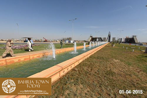 Bahria Town Karachi Latest Progress Update – April 2015 (4)